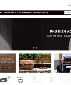thiet ke web thoi trang chuyen nghiep