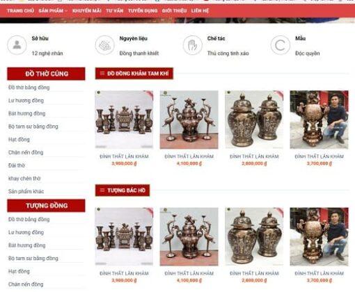 website do go my nghe daklak