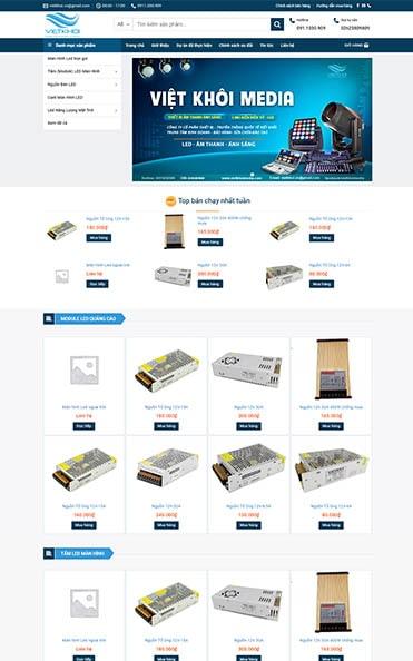 thiết kế web bán hàng daklak