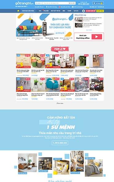 thiết kế website tại buôn ma thuột gỗ nội thất
